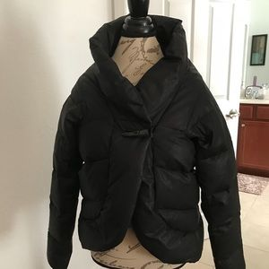 All Saints duck down puffer jacket